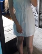 Sukienka biała zwiewna koronkowa S Nowa z metką Top Secret...