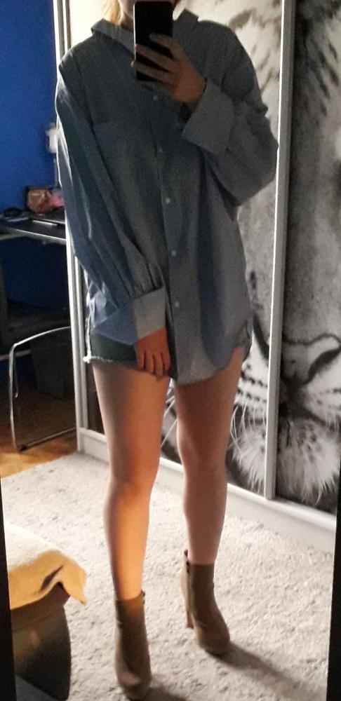 Koszula paski Zara L koło