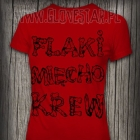 Czerwona koszulka Flaki mięcho krew GLOVESTAR