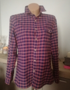 Koszula flanelowa damska H&M...