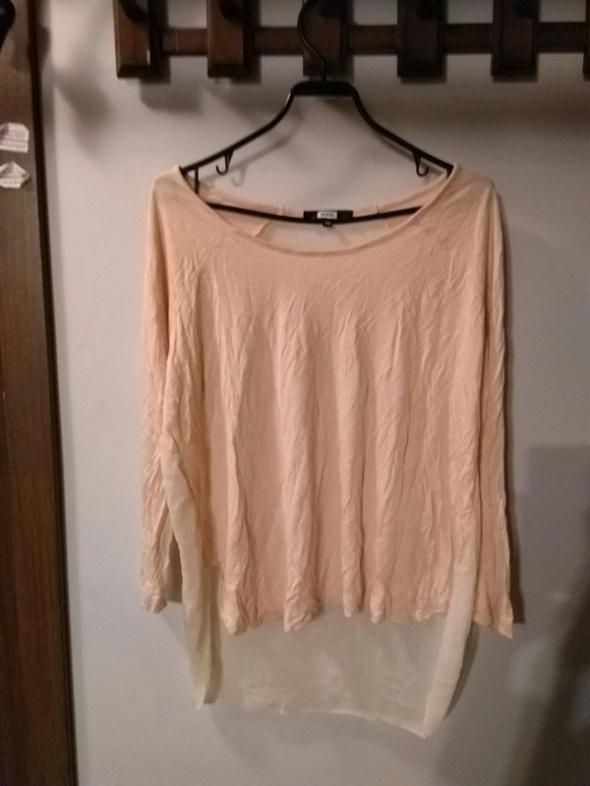 Asymetryczna bluzka Bik Bok XS oversize...