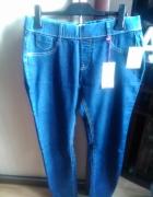 Jegginsy jeansowe Clockhouse rozmiar 44 Nowe