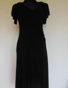 Dorothy Perkins czarna sukienka midi letnia...
