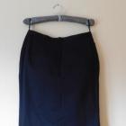 Atmosphere czarna spódnica midi kokarda 40 42