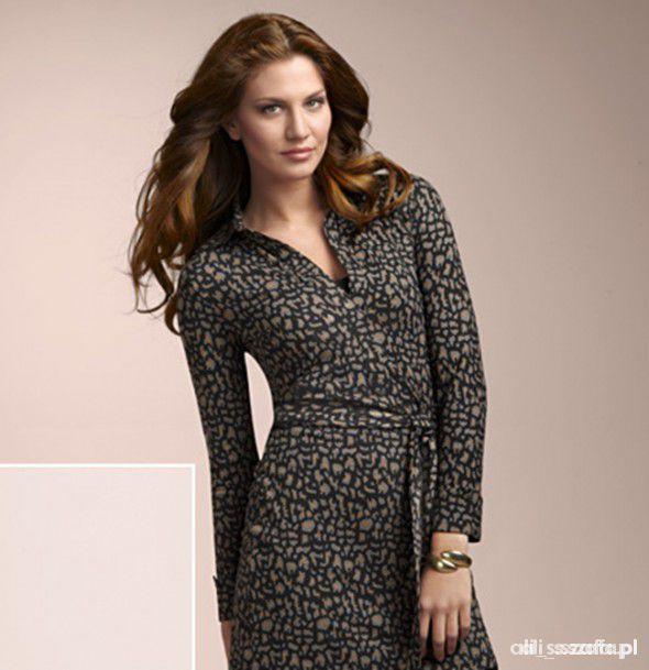 Suknie i sukienki sukienka tunika panterka 36 38