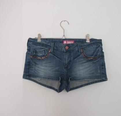 Spodenki jeansowe mini szorty