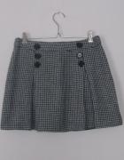 trapezowa spódnica b&w...