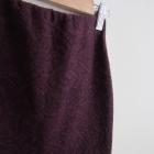 Ołówkowa spódnica burgund