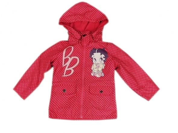 Baby Boop płaszcz kurtka dziewczeca rozowa rozm 98 cm 3 lat