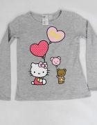 H&M bluzka dziewczeca Hello Kitty 6 do 8 lat 122 do 128 cm...