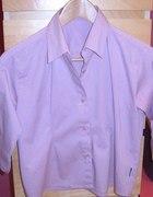krótki top pudrowa koszula...