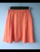 Atmosphere neonowa spódniczka mini orange neon...