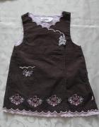 Mała sukieneczka dla dziewczynki 68