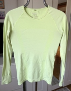 Limonkowa bluzka sportowa Atmosphere Workout rozm S...