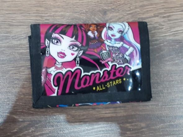Zabawki Portfelik Monster High