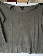 Szaro bezowy sweterek H&M L lub oversize...