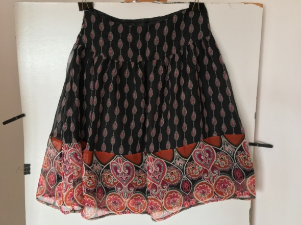 Spódnice Czarna spódniczka rozkloszowana H&M rozm 36