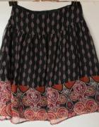 Czarna spódniczka rozkloszowana H&M rozm 36...