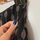 Czarna spódniczka rozkloszowana H&M rozm 36