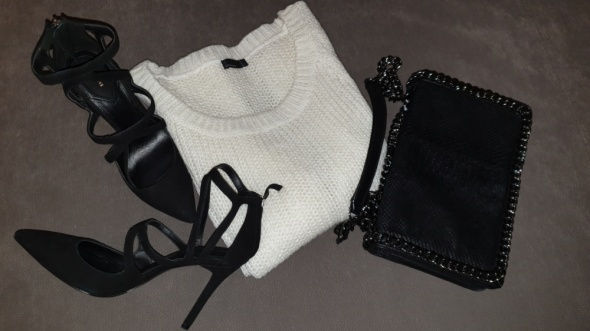 Vero Moda kremowy sweterek r L...