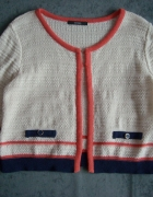 GEORGE sweter bolerko kremowe r 38...