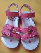 Nowe sandałki dziewczęce rozmiar 29