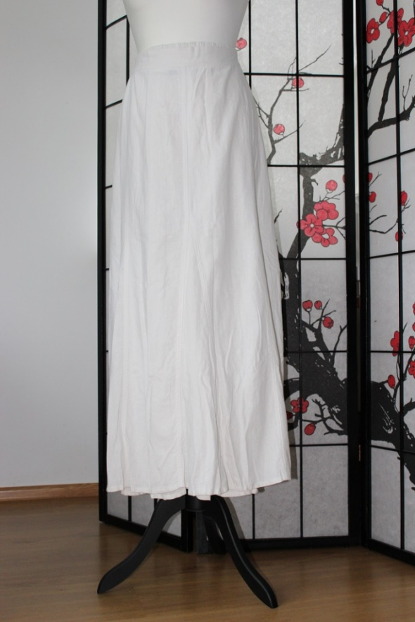 Spódnice spódnica midi maxi długa biała boho 5xl 50