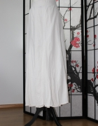 spódnica midi maxi długa biała boho 5xl 50...