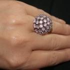 duży koktajlowy pierścionek