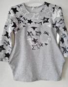 Nowa sukienka dresowa 134