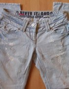 jeansy River Island 36 38