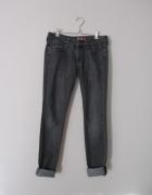 szare rurki skinny jeans...