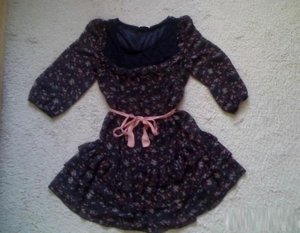 Suknie i sukienki sukienka falbanki boho hippie