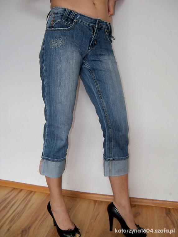 Spodenki Spodenki rybaczki jeansowe jak nowe S M L