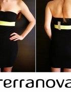 Czarna krótka sukienka Terranova xs 34...