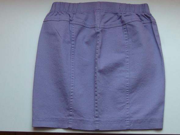 Spódnice Fioletowa spódniczka spódnica jeansowa jeans xxs 3