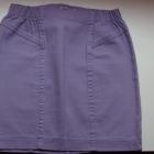Fioletowa spódniczka spódnica jeansowa jeans xxs 3