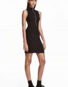 sukienka H&m zamek suwak zip ołówkowa xs 34 xxs 32...