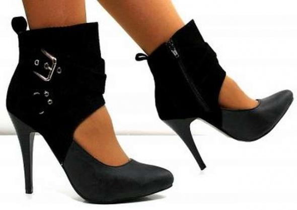 Szpilki Czółenka szpilki obcasy sandały czarne 36 37 38