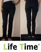 Czarne spodnie kupione w Norwegii przeszycia s 36...