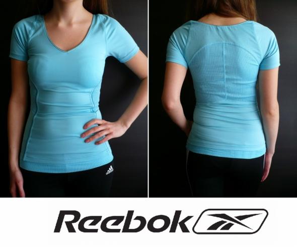 koszulka Reebok XS 34 S 36 bluzka t shirt top fit...