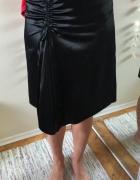 Czarna spódnica asymetryczna rozm 40...