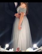 Sukienka księżniczka długa tiulowa wieczorowa...