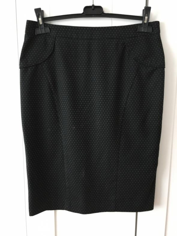 Spódnice Czarna ołówkowa elegancka spódniczka Warehouse rozm 40