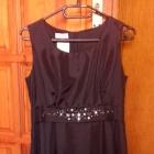 Czarna wizytowa sukienka 38