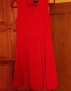 Czerwona sukienka 38