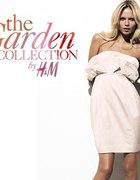 SUKIENKA GARDEN COLLECTION H&M PUDROWY RÓŻ 32
