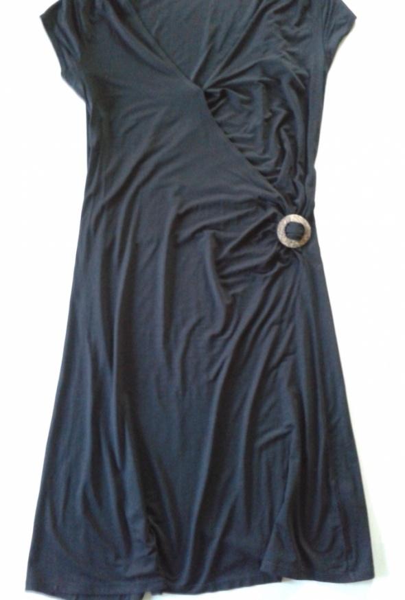 Suknie i sukienki GEORGE Sukienka czarna 40 L