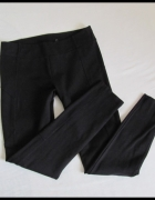 Reserved spodnie na gumce tregginsy czarne 40 L...