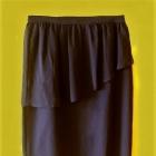 spódnica czarna z wysokim stanem z falbanka